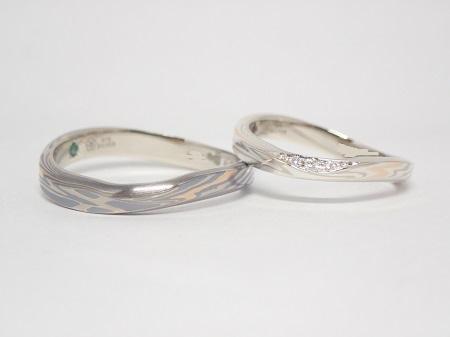 20110701木目金の結婚指輪.JPG