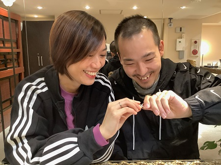 20111502木目金の結婚指輪_K002.JPG