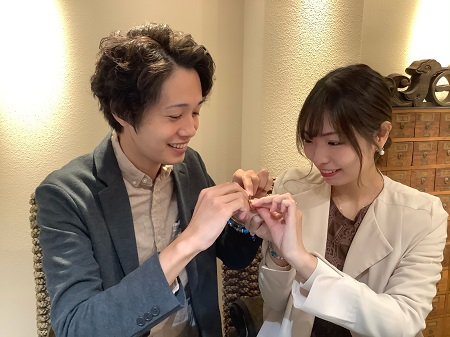 20112001木目金の婚約・結婚指輪_G002.JPG