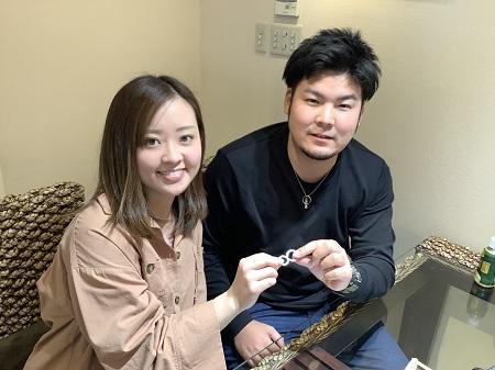 20112101木目金の婚約指輪と結婚指輪_A001.JPG