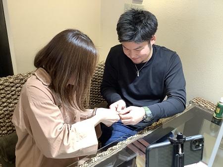 20112101木目金の婚約指輪と結婚指輪_A002.JPG