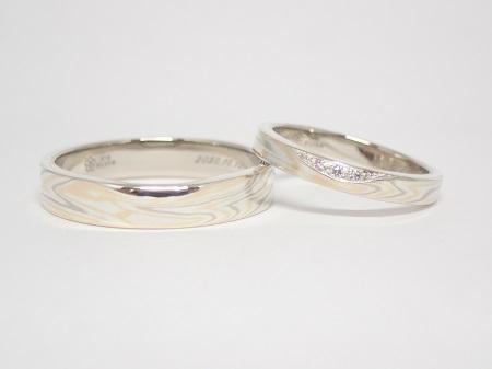 20112101木目金の婚約指輪と結婚指輪_A005.JPG