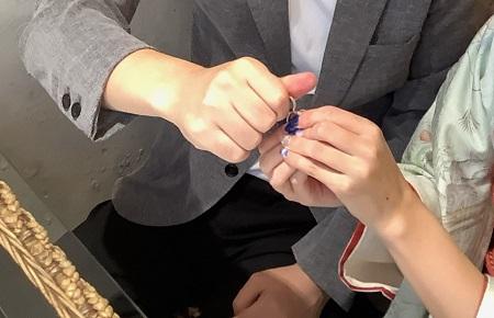 20120601木目金の婚約指輪結婚指輪_U002.jpg