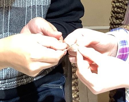 20121302木目金の婚約指輪と結婚指輪_A002.JPG