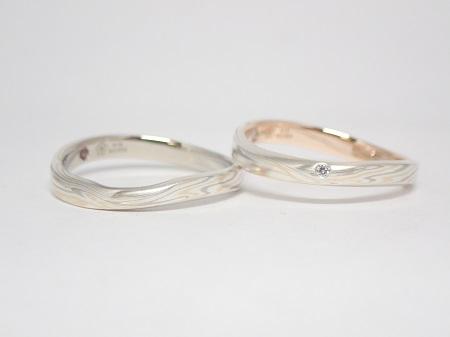 20121302木目金の婚約指輪と結婚指輪_A004.JPG