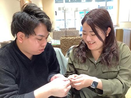 20122101木目金の結婚指輪₋D002.JPG