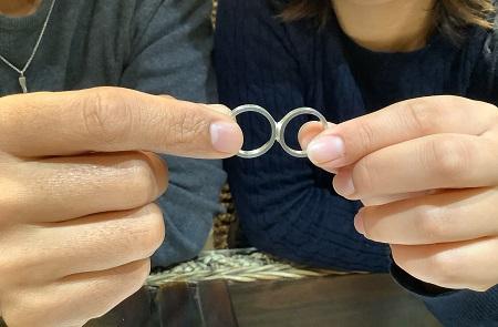 20122501木目金の婚約指輪結婚指輪_K001.JPG