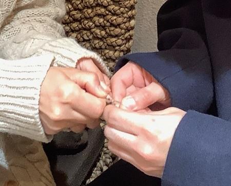 20122702木目金の婚約指輪・結婚指輪_Y002.JPG