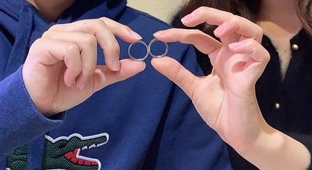 20122901木目金の婚約指輪・結婚指輪_Y001.JPG