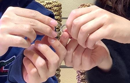 20122901木目金の婚約指輪・結婚指輪_Y002.JPG