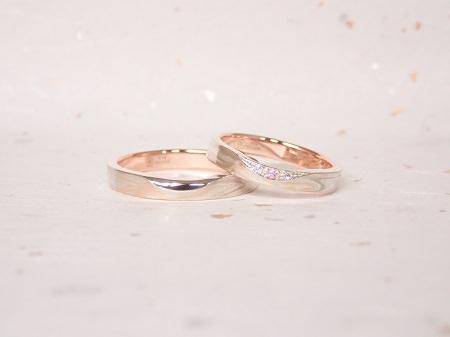 2018100401木目金の結婚指輪と婚約指輪_D004.JPG