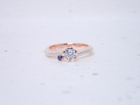 20190921木目金の婚約指輪_H001.JPG