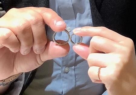 21011001木目金の婚約指輪・結婚指輪_N001.JPG