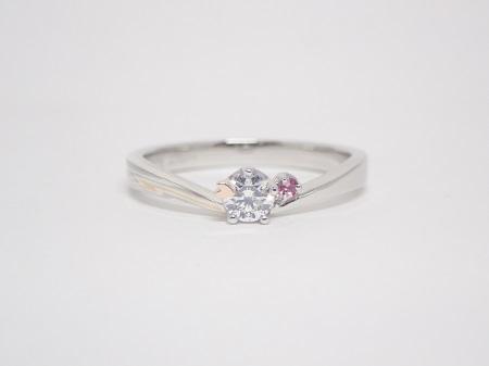 21020201木目金の婚約指輪と結婚指輪_B004.JPG