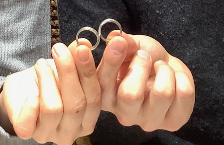 21020701木目金の結婚指輪₋D001.JPG