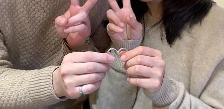 21021301木目金の婚約・結婚指輪_N001.JPG