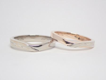 21021302木目金の婚約・結婚指輪_G004.JPG