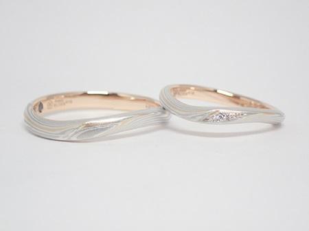 21021601木目金の婚約指輪・結婚指輪_OM004.JPG
