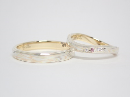 21022201木目金の婚約・結婚指輪_LH003.JPG