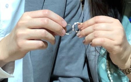 21030703木目金の婚約指輪・結婚指輪_Y001.JPG