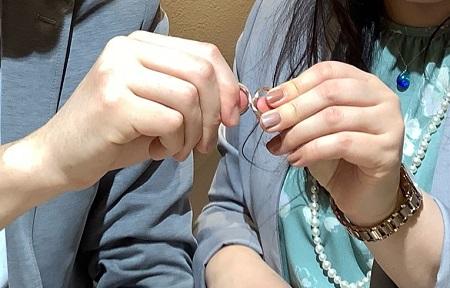 21030703木目金の婚約指輪・結婚指輪_Y002.JPG