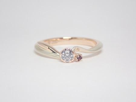 21031404木目金の婚約指輪_G001.JPG