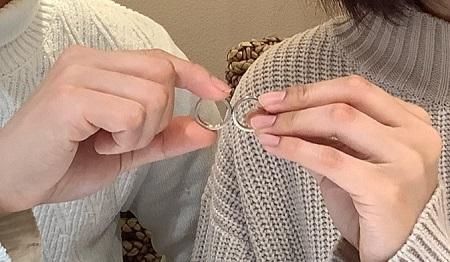 21031501木目金の婚約指輪・結婚指輪_G001.JPG