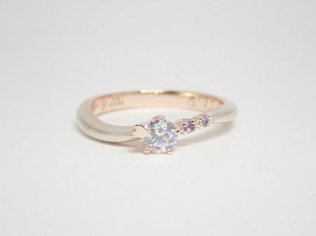 21031601木目金の婚約指輪・結婚指輪_Q004①.JPG