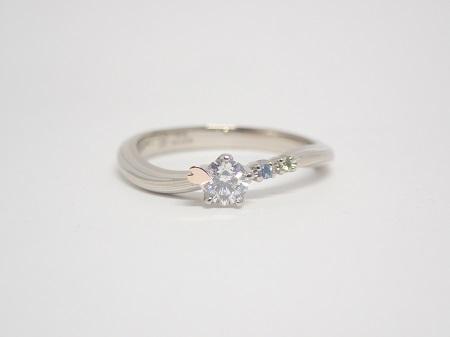 21033106木目金の婚約指輪・結婚指輪_Q003.JPG