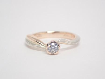 21040302木目金の婚約指輪結婚指輪_K003.JPG