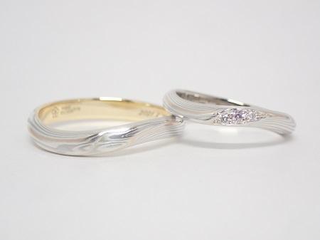 21040401木目金の婚約指輪結婚指輪_U004.5.JPG