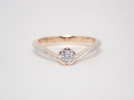 21040403木目金の婚約指輪結婚指輪_K004.JPG
