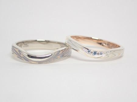 21040403木目金の婚約指輪結婚指輪_K005.JPG