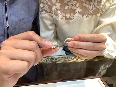 21050201木目金の婚約指輪結婚指輪_K002.JPG