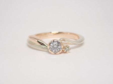 21052906木目金の婚約指輪・結婚指輪_Y003.JPG
