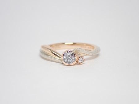 21053001木目金の婚約指輪と結婚指輪_Q004.JPG
