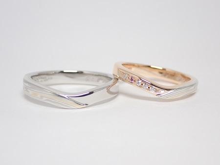 21053002木目金の婚約指輪・結婚指輪_Q005.JPG