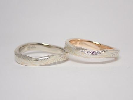 21060602木目金の婚約指輪・結婚指輪₋D004-1.JPG