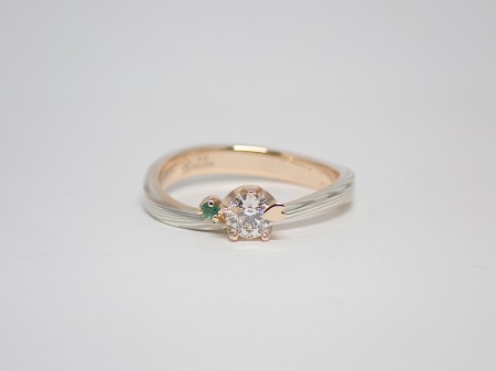 21060602木目金の婚約指輪・結婚指輪_A004.JPG