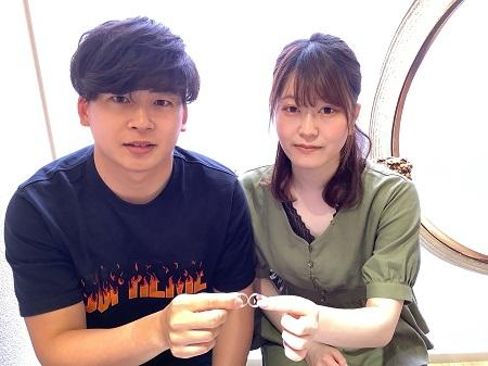 21061301木目金の婚約・結婚指輪_N001.JPG