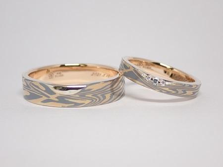 21062101木目金の結婚指輪₋D004.JPG