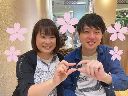21062601木目金の結婚指輪_001①.JPG