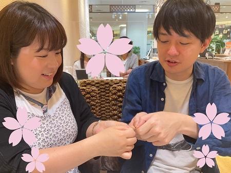 21062601木目金の結婚指輪_002①②.JPG