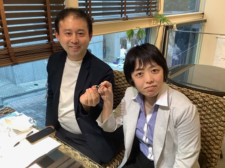 21070401木目金の婚約指輪・結婚指輪_M001.JPG