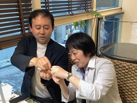 21070401木目金の婚約指輪・結婚指輪_M002.JPG
