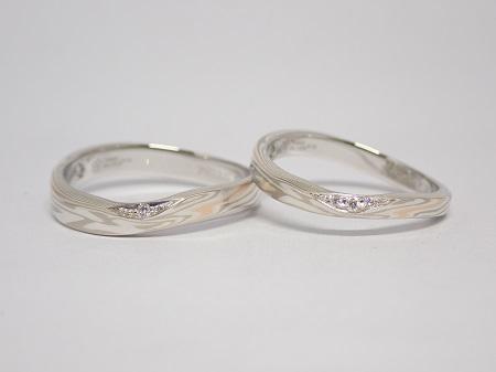 21070401木目金の婚約指輪・結婚指輪_M005.JPG