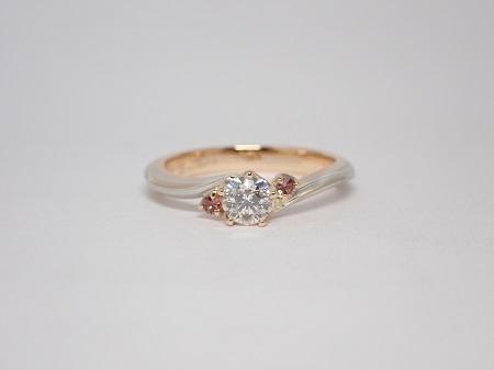21070403木目金の婚約指輪と結婚指輪_R004①.JPG