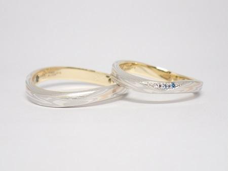 21070403木目金の婚約指輪と結婚指輪_R004②.JPG