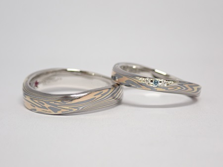 21071001木目金の結婚指輪_M003.JPG