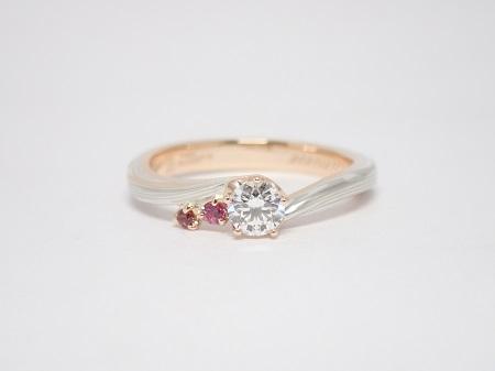 21071803木目金の婚約指輪_G001.JPG